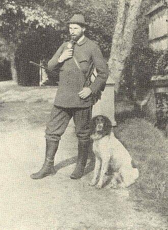 Clemens August Graf von Galen - Clemens August von Galen in 1899 after a hunt.