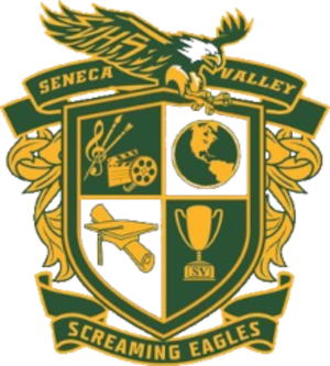 Seneca Valley High School - Image: Coat of arms of Seneca Valley High School, Maryland