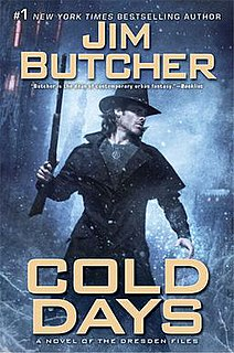 <i>Cold Days</i> book by Jim Butcher