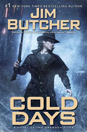 Cold Days - Image: Cold Days Hardcover
