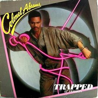 Trapped (Colonel Abrams song) - Image: Colonel Abrams Trapped in the cover