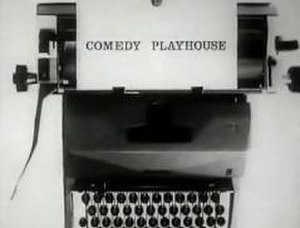 "Comedy Playhouse - Titlecard for the 1961/62 series episode ""The Offer"". This episode was the pilot for Steptoe and Son."