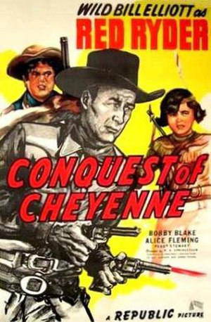 Conquest of Cheyenne - Theatrical release poster