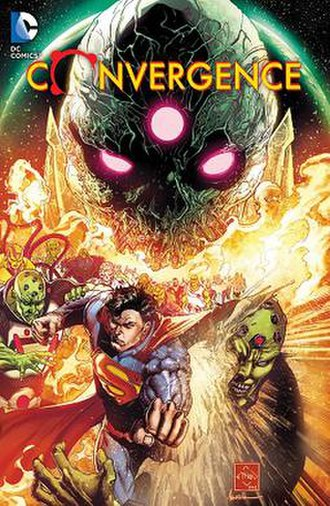 Convergence (comics) - Cover of Convergence hardcover Art by Ethan Van Sciver.