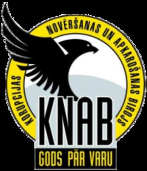 Corruption Prevention and Combating Bureau - KNAB logo.