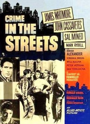 Crime in the Streets - Theatrical release poster