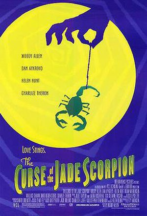 The Curse of the Jade Scorpion - Theatrical release poster