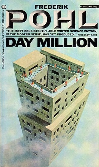 Day Million - Cover of the first edition, published by Ballantine Books.