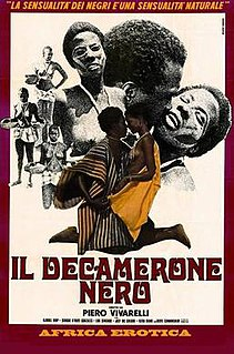 <i>The Black Decameron</i> 1972 film by Piero Vivarelli