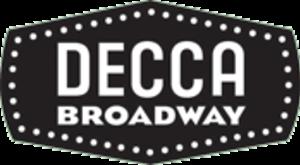 Decca Broadway - Image: Deccabroadwaylogo