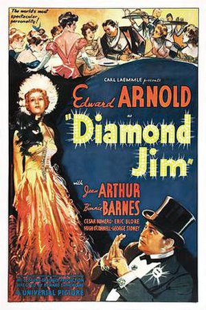 Diamond Jim - Film poster