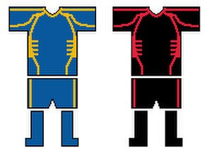 Doncaster R.L.F.C. - Doncaster Home and Away Kits 2007