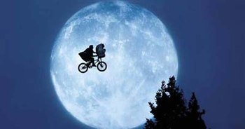 Empire called Elliott and E.T.'s flight to the...
