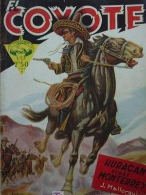 El Coyote (character) - Image: El Coyote Cliper 2