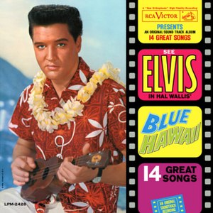 1961 Elvis Presley album cover.