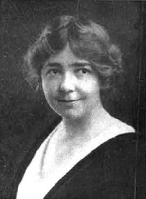 Eleonora and Ethel Olson - Ethel Olson 1917