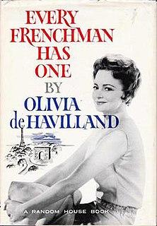 book by Olivia de Havilland