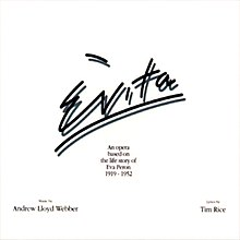 Cover of Evita album