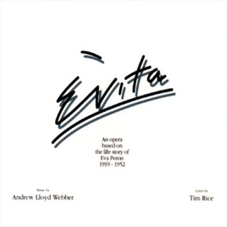Evita (album) - Image: Evita Original Cast