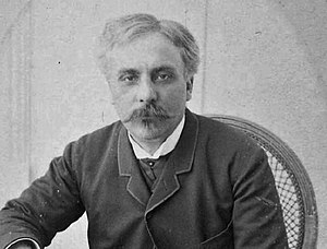 Élégie (Fauré) - The composer in his early middle years