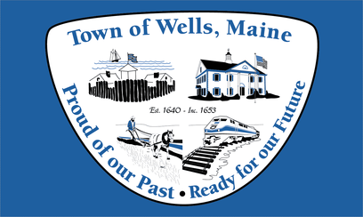 Flag of Wells, Maine