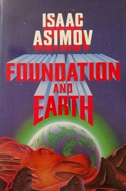 Foundation and Earth (book cover)