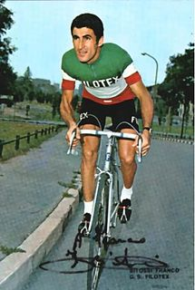 Franco Bitossi Italian racing cyclist