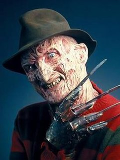Freddy Krueger The main antagonist of the A Nightmare on Elm Street film series