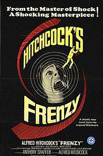 <i>Frenzy</i> 1972 film by Alfred Hitchcock