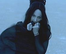 """Madonna in """"Frozen"""" video."""