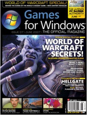 Games for Windows: The Official Magazine - Image: Games for Windows the Official Magazine issue 07