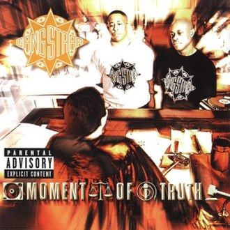 Moment of Truth (Gang Starr album) - Image: Gangstarrmomentoftru th