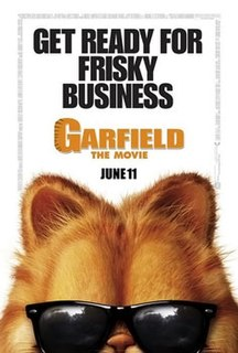<i>Garfield: The Movie</i> 2004 animated/live-action film by Peter Hewitt