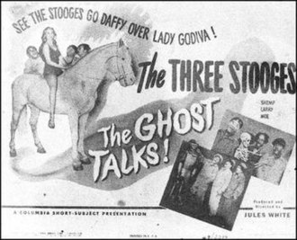 The Ghost Talks (1949 film) - Image: Ghosttalks 49LOBBY