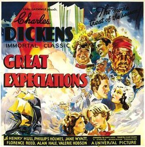 Great Expectations (1934 film) - Image: Great Expectations film poster Laemmle