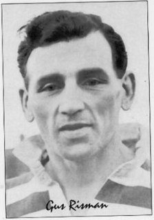 Gus Risman Welsh rugby union footballer, and rugby league footballer and coach