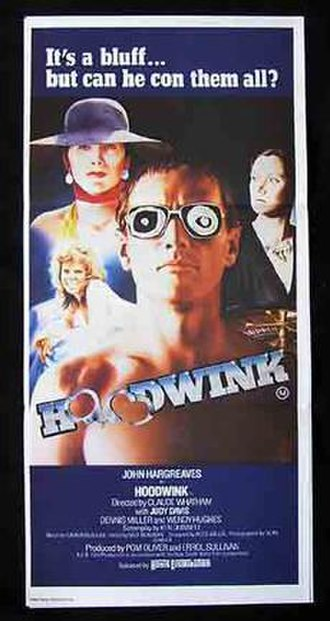 Hoodwink (1981 film) - Promotional poster