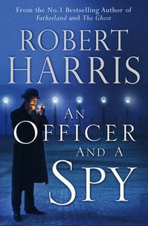 <i>An Officer and a Spy</i> book by Robert Harris