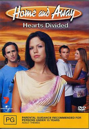 Home and Away: Hearts Divided - DVD Cover for Hearts Divided