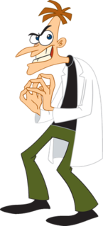 Dr. Heinz Doofenshmirtz main antagonist from the animated television show Phineas and Ferb