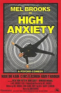 <i>High Anxiety</i> 1977 film by Mel Brooks