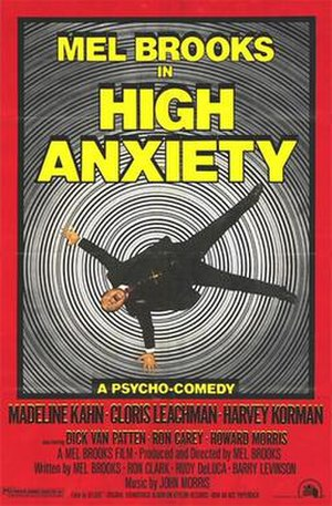 High Anxiety - Theatrical release poster