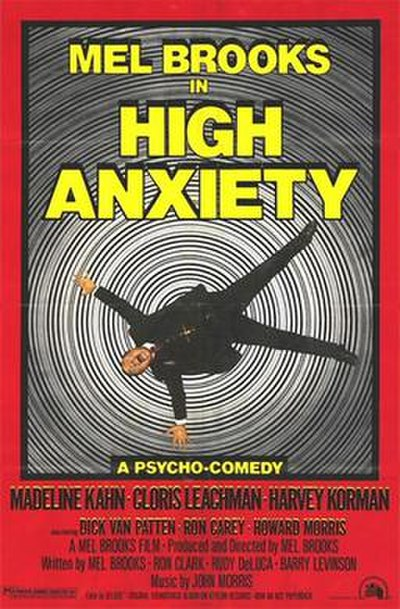 Picture of a movie: High Anxiety