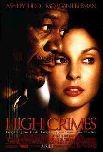High Crimes - Theatrical release poster
