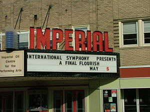 International Symphony Orchestra - Imperial Theatre Marquee - 5 May 2012 - Final concert of the 2011 - 2012 season