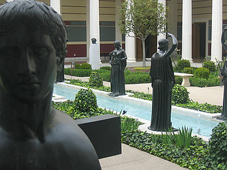 Getty Villa - The inner peristyle