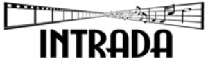 Intrada Records - Image: Intrada logo