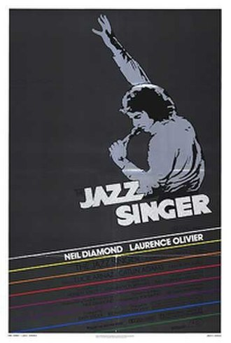 The Jazz Singer (1980 film) - Theatrical release poster