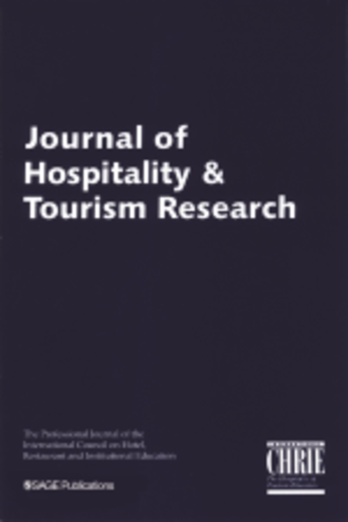 journal of hospitality  u0026 tourism research