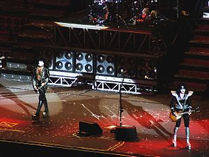 Alive 35 World Tour - Kiss at the Verona Arena in Verona, Italy May 13, 2008